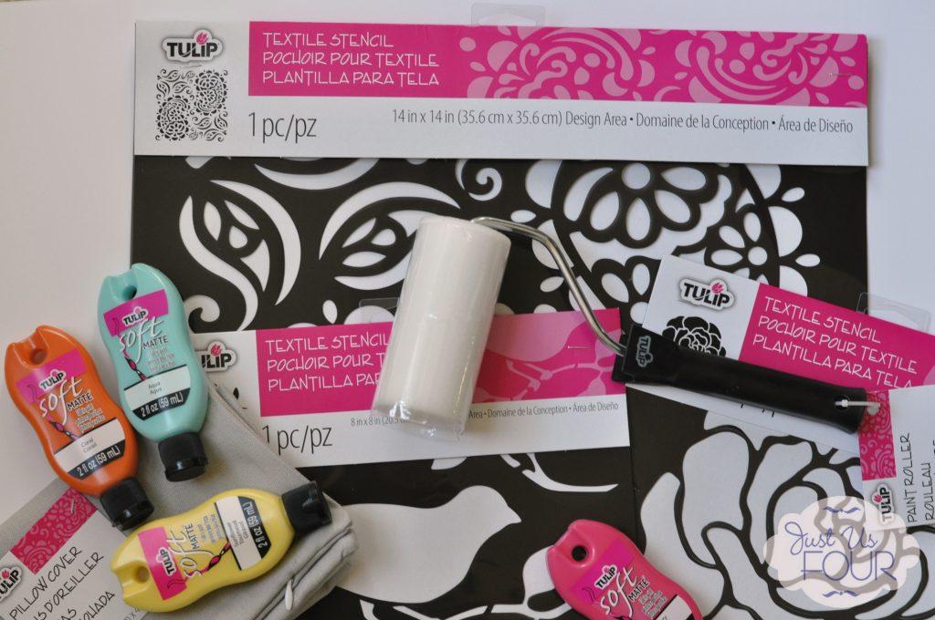 Tulip Stencil Supplies