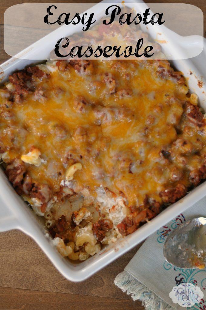 Easy Pasta Casserole #freezerfriendly #realtaste #ad