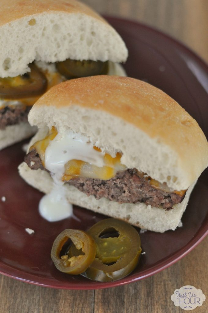 I can't wait to try making this burger for our next BBQ. We love ranch with jalapenos. #SayCheeseburger