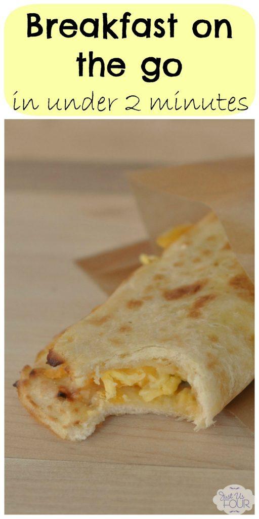 Delicious breakfast on the go in under 2 minutes! #BetterBreakfast #TysonDayStarts