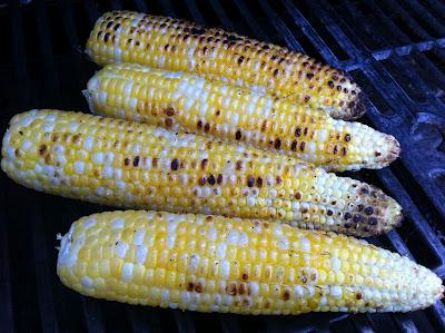 Recipes for the Grill - 03 - Thrifty Recipes - Grilled Corn on the Cob