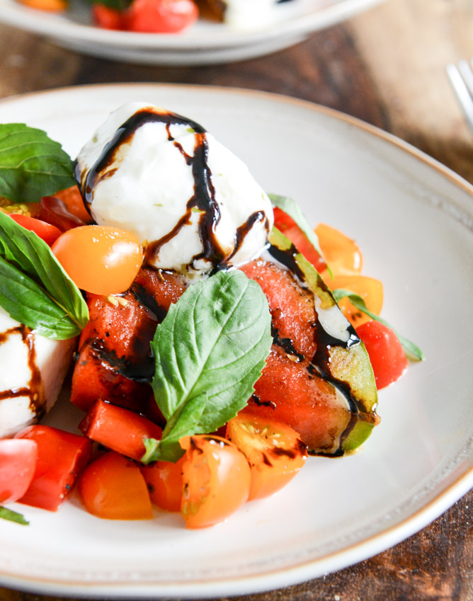 Recipes for the Grill - 07 - How Sweet Eats - Grilled Watermelon Salad