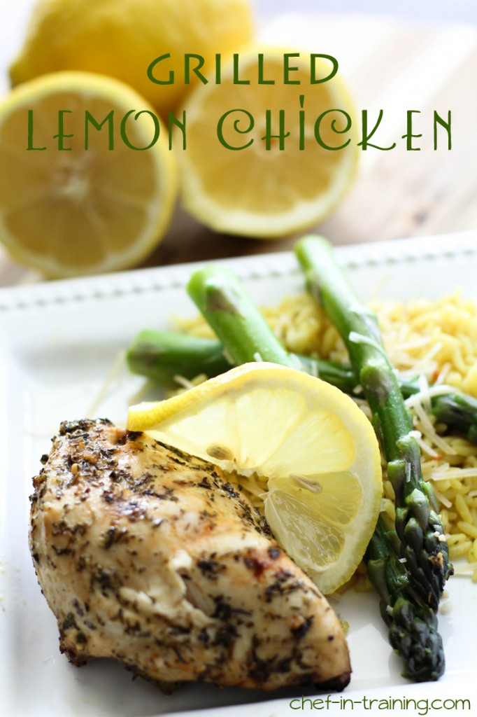 Recipes for the Grill - 08 - Chef-in-training - Grilled Lemon Chicken