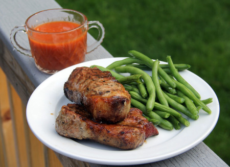 Recipes for the Grill - 13 - Snappy Gourmet - Apple Barbecue Ribs