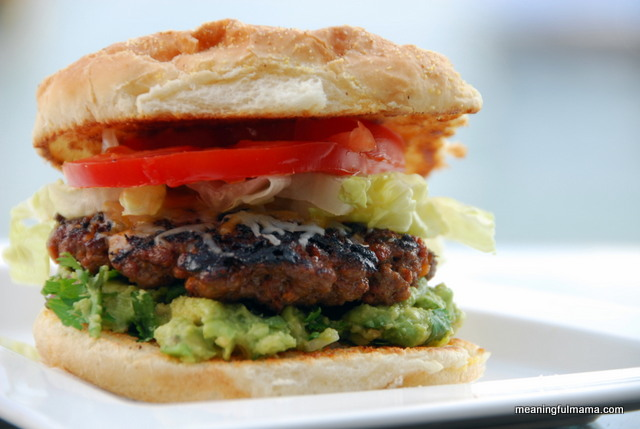 Recipes for the Grill - 16 - Meaningful Mama - Taco Burgers
