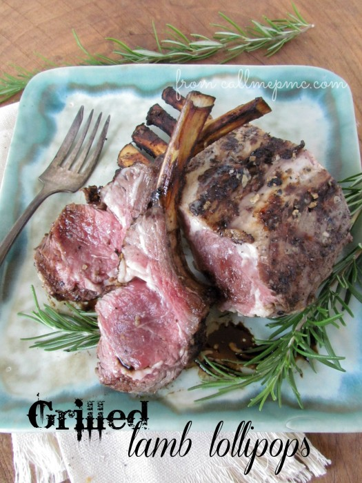 Recipes for the Grill - 18 - Call Me PC - Grilled Lamb Lollipops