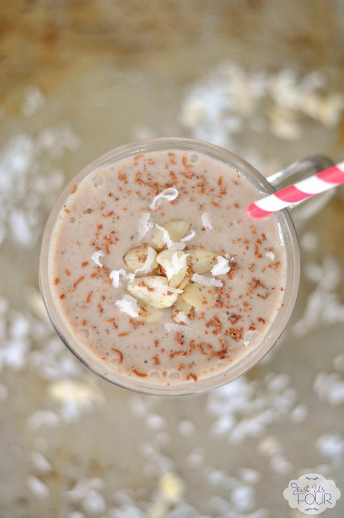 Almond Coconut Milkshake - the perfect summer dessert. #shop #SilkAlmondBlends