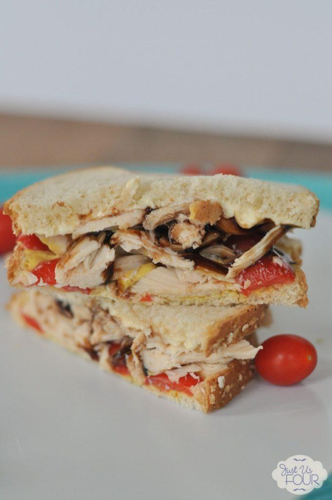 Fantastic flavor combinations in the sandwich. It sounds so delicious.