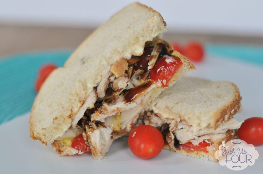 I love balsamic vinegar with chicken so this balsamic chicken sandwich sounds amazing!
