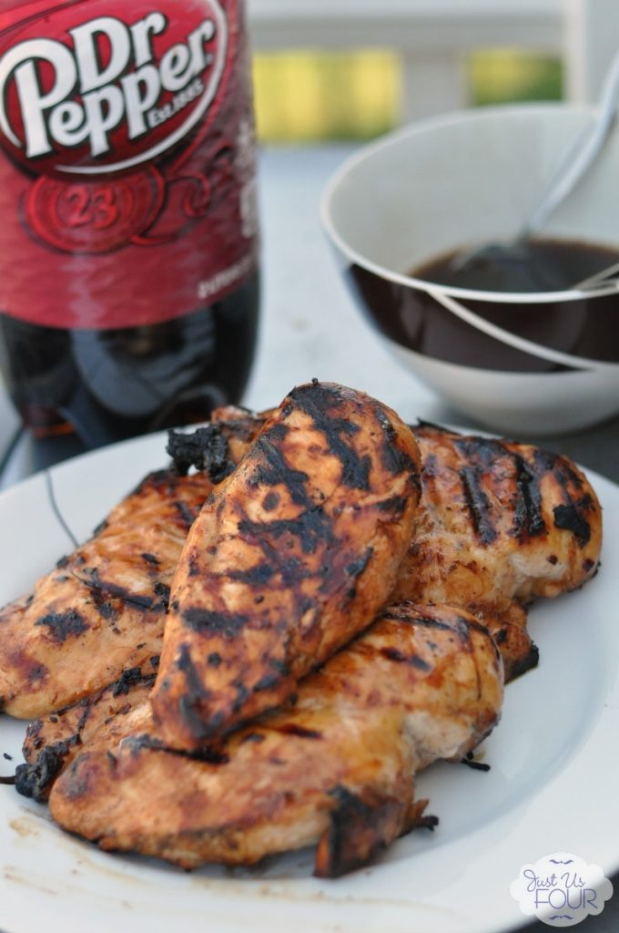 Love her combination of flavors in this grilled sticky chicken recipe. #BackyardBash #shop