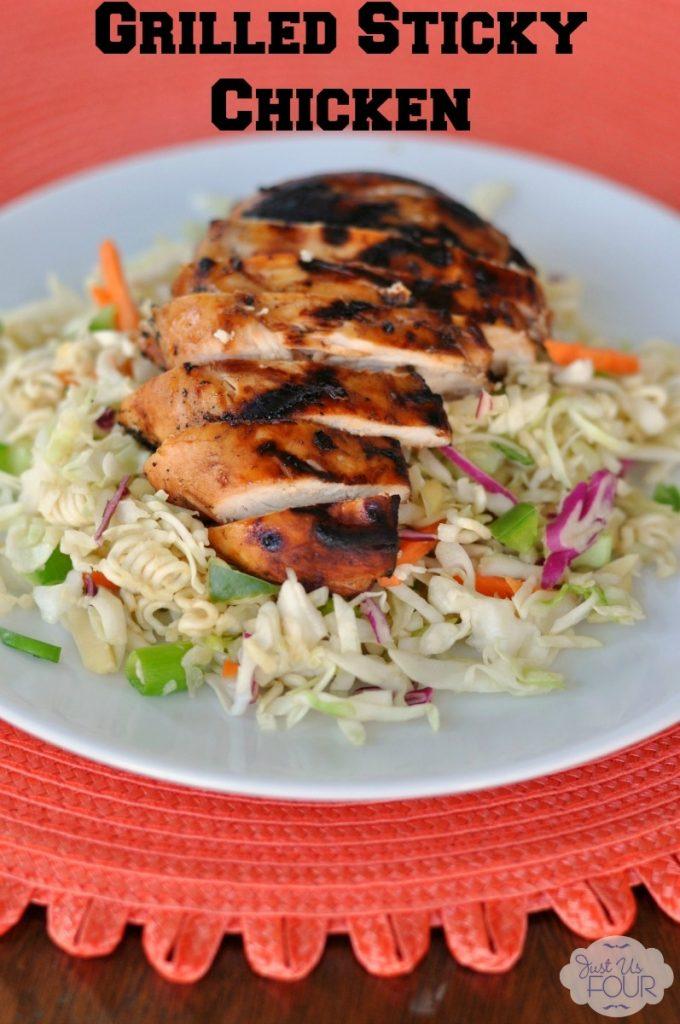 Enjoy delicious chicken with a simple but amazing marinade this summer! #BackyardBash #shop #cbias