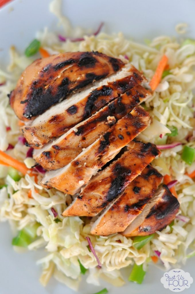 Make your grilled chicken delicious with a simple marinade featuring Dr Pepper. #BackyardBash #shop