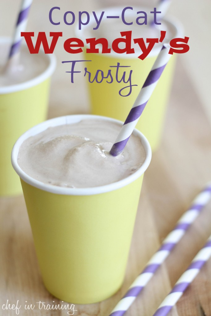 02 - Chef in Training - Copycat Wendy's Frosty