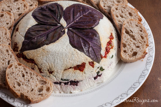 03 - Andreas Recipes - Cheese Torta with Basil