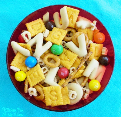05 - Kitchen Fun with My 3 Sons - Back to School Snack Mix