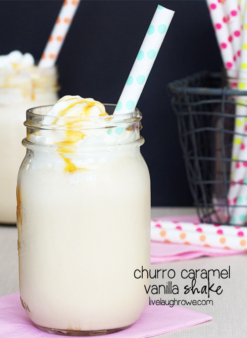 05 - Live Laugh Rowe - Churro Caramel Vanilla Shake