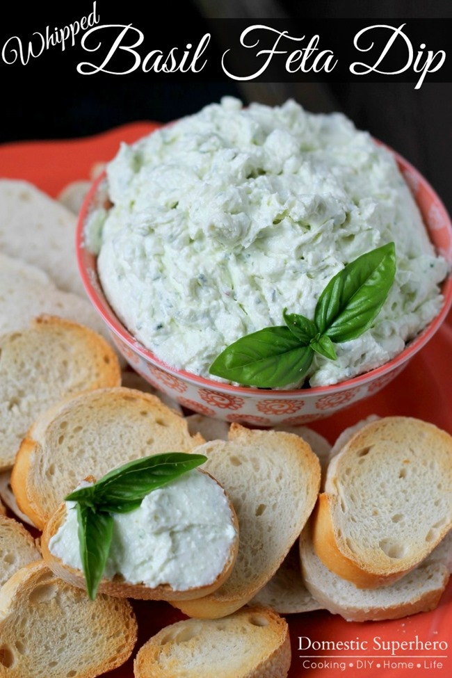 06 - Domestic Superhero - Whipped Basil Feta Dip