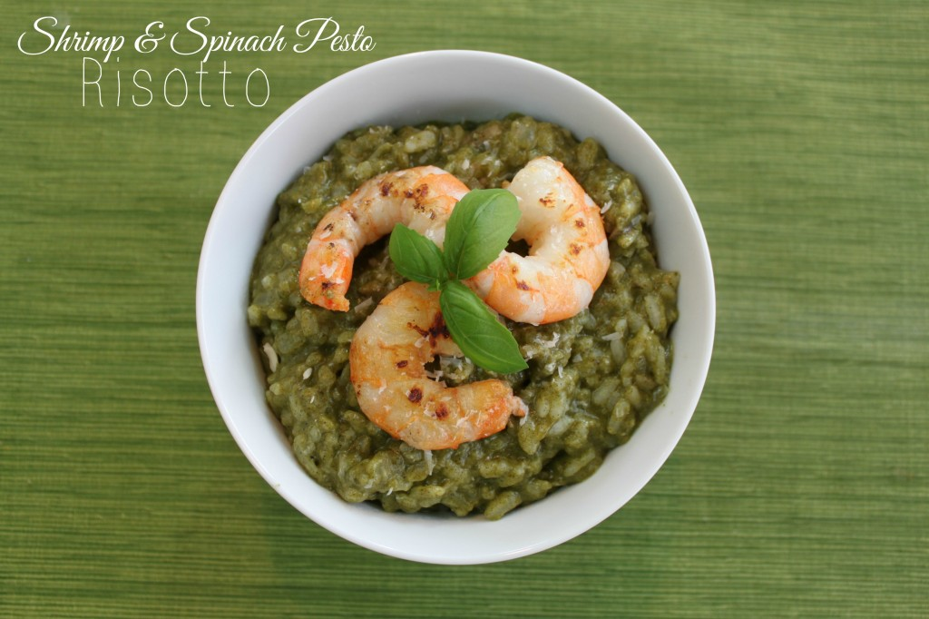 07 - Keep It Simple Sweetie - Shrimp Risotta with Pesto