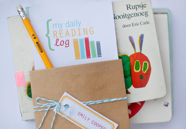 11 - Somewhat Simple - Back to School Reading Log
