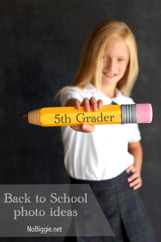 13 - NoBiggie - Back to School Pencil Photo
