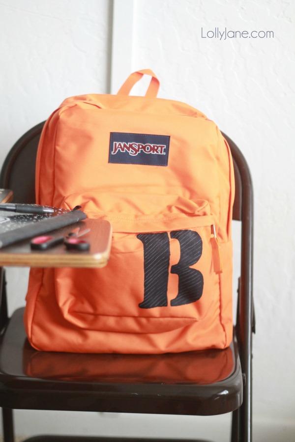 14 - Lollyjane - Monogram Stencil Backpack