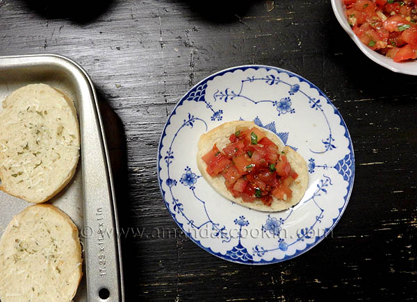 15 - Amanda's Cookin' - Copycat Olive Garden Bruschetta