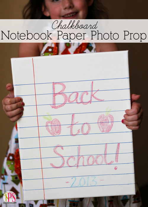 15 - Positively Splendid - Notebook Paper Photo Prop