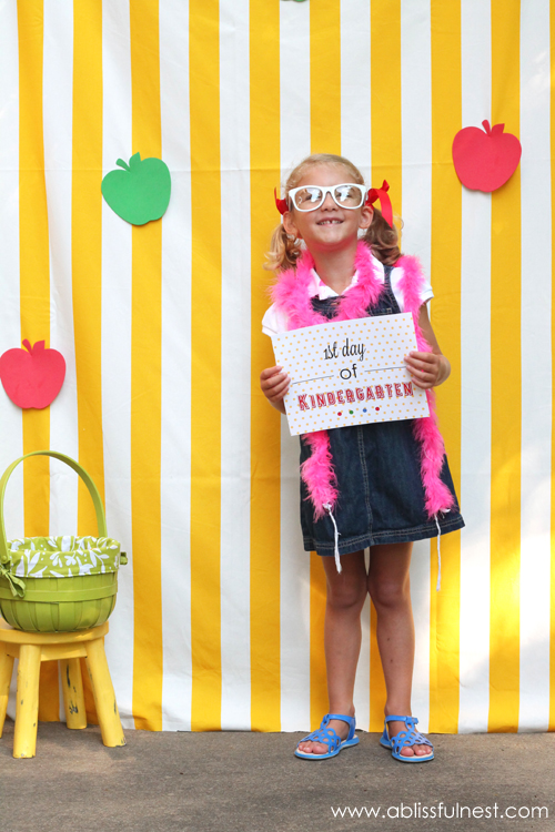 16 - Living Locurto - Back to School Photo Printable