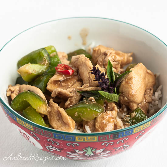 19 - Andrea's Recipes - Thai Basil Chicken