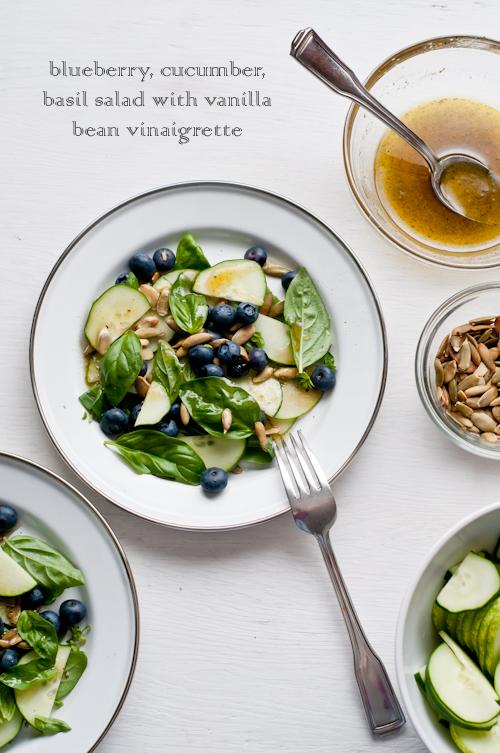 20 - Cafe Johnsonia - Blueberry Cucumber Basil salad