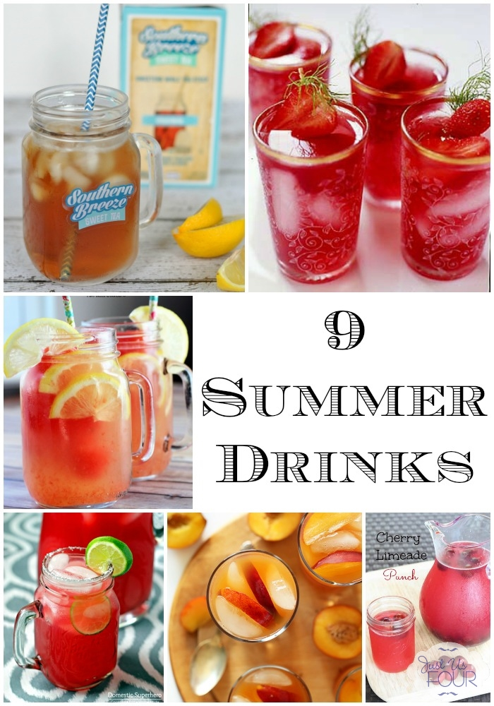 9 yummy summer drinks to stay cool and refreshed. #SouthernBreezeTea #AD