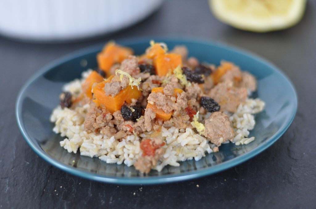 Turkey and Sweet Potato One Pot