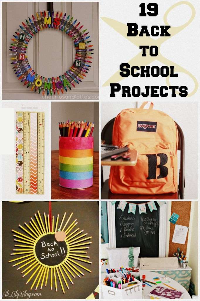 19 awesome ideas to get ready for back to school ideas ! #backtoschool