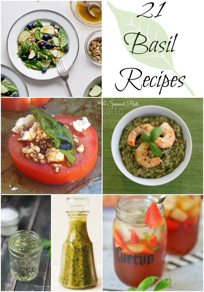 These are the perfect way to use all the extra basil in your house.