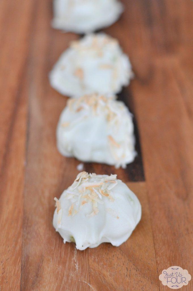 Coconut Lime Oreo Truffles