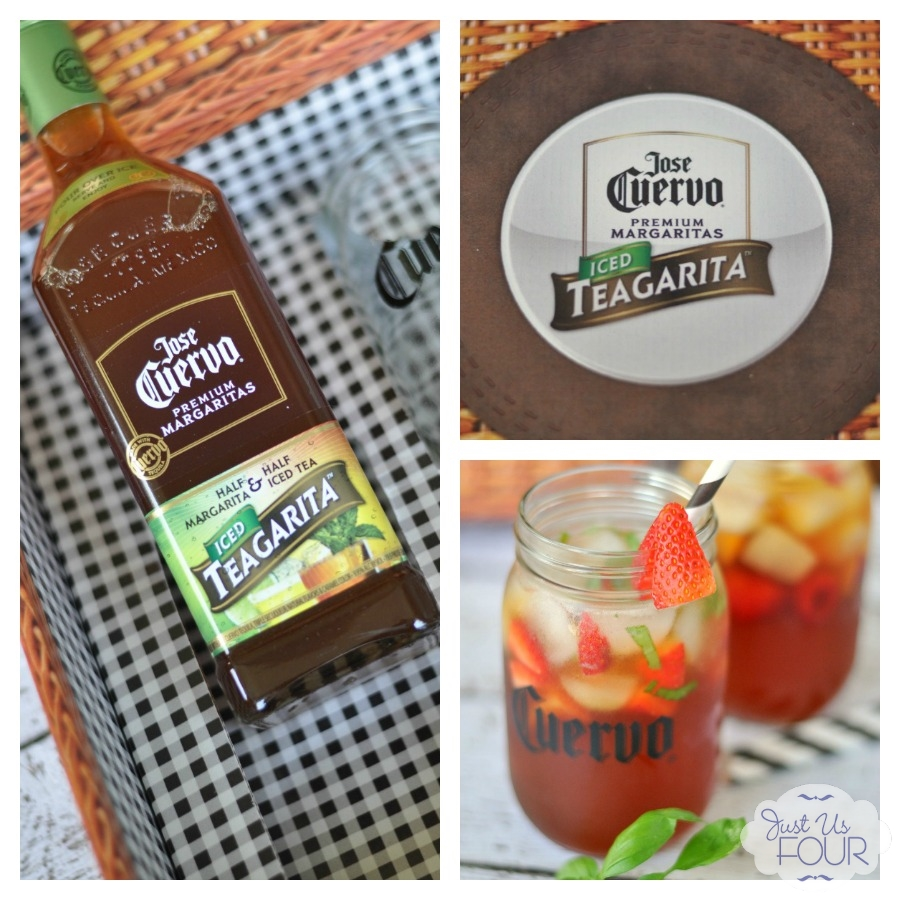 Half iced tea and half margarita...genius! Love this new idea. #CuervoTeagarita #spon