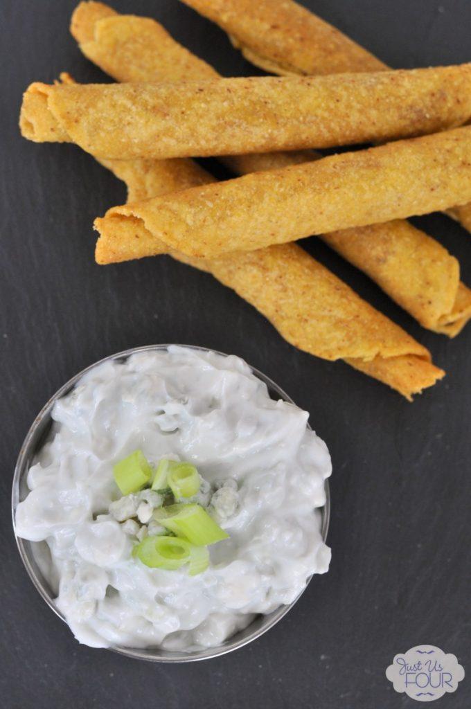 Easy three ingredient blue cheese dip