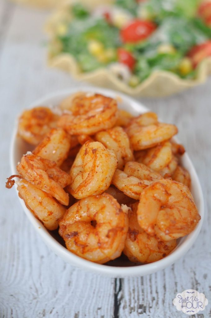 Grilled Chipotle Shrimp for Salad