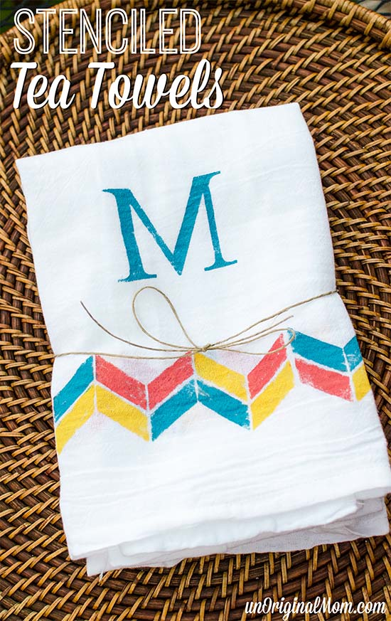 stenciled-tea-towels-title