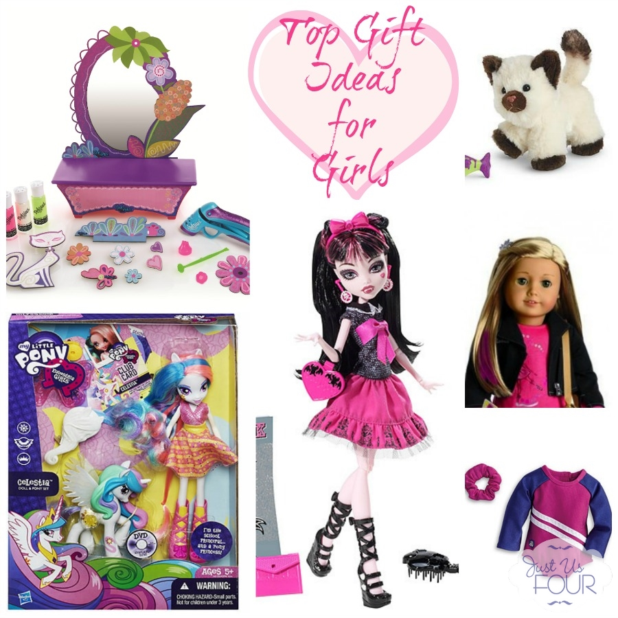 Great gift ideas for young girls around age 7.