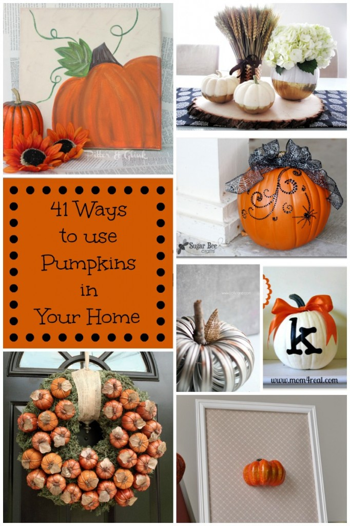 41 Ways To Decorate With Pumpkins In Your Home