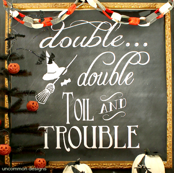 03 - Uncommon Designs - Halloween Chalkboard Art