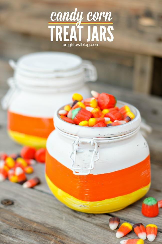 05 - Tatertots and Jello - Candy Corn Treat Jars