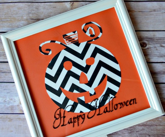 07 - It Happens in a Blink - Chevron Pumpkin