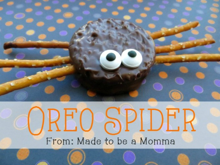 08 - Made to Be a Momma - Oreo Spiders