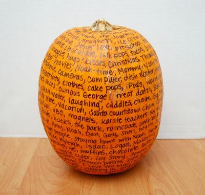 09 - One Artsy Mom - Thankful Pumpkin