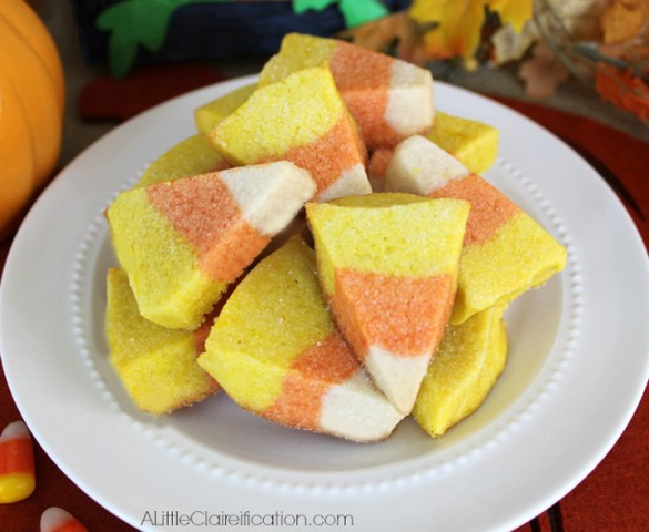 11 - A Little Clarification - Candy Corn Sugar Cookies