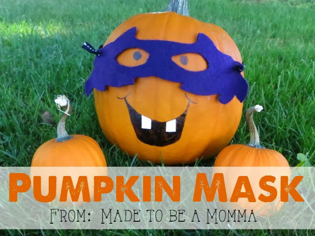 11 - Made To Be a Momma - Pumpkin Mask