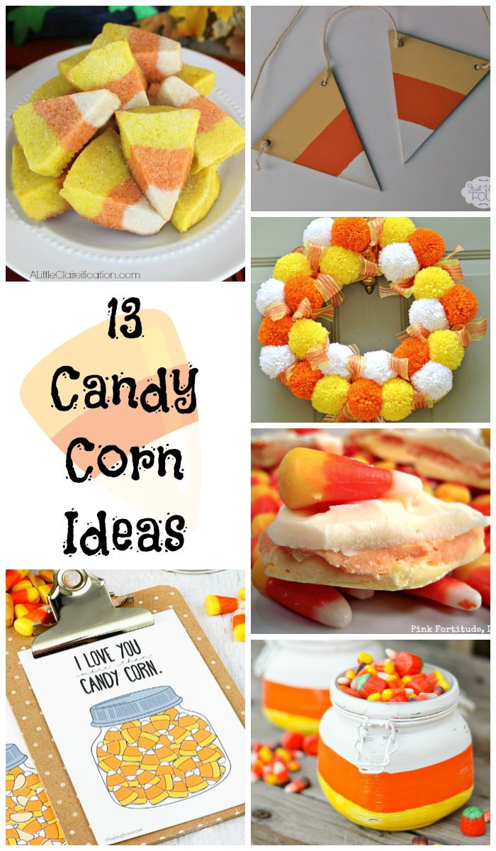 These are the best ideas for candy corn themed recipes and crafts.