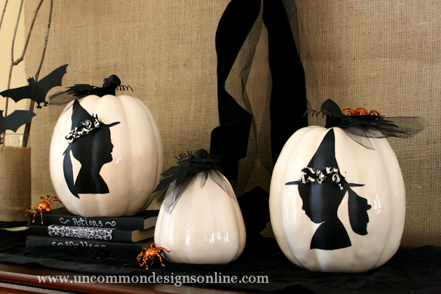 16 - Uncommon Designs - Silhouette Pumpkins